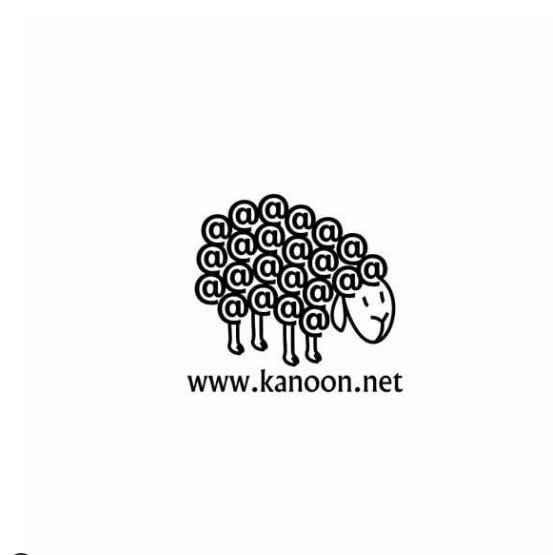 طراحی لوگو کارت تلفن کانون انفورماتیک