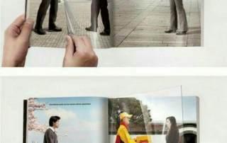 طراحی کاتالوگ خلاقانه DHL