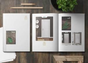 طراحی کاتالوگ درب فاخر