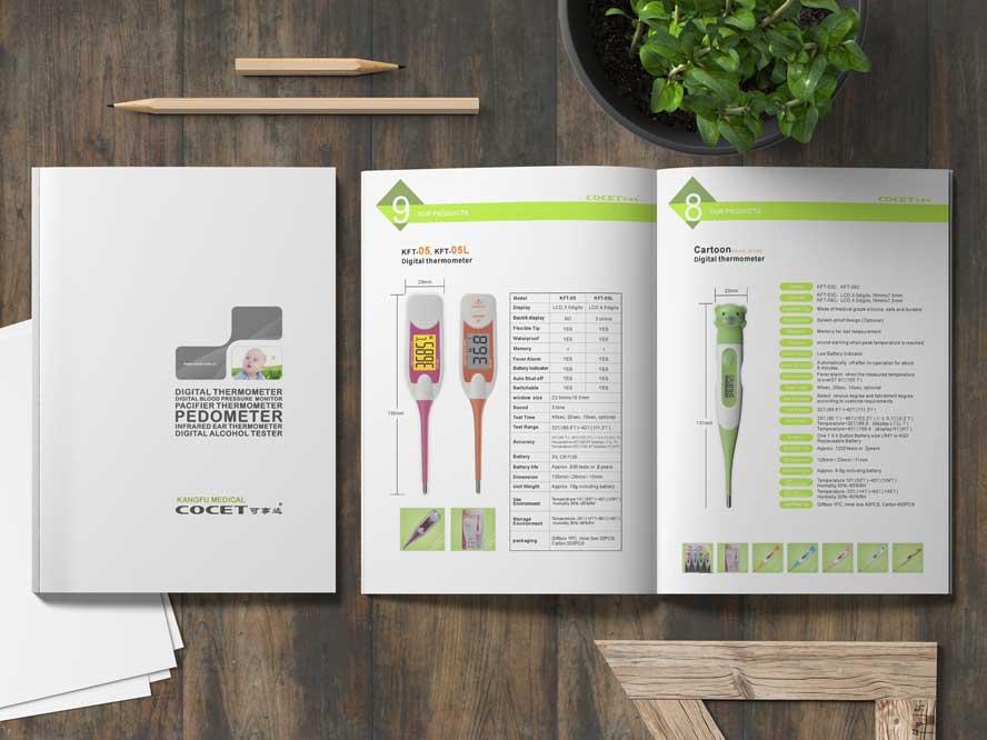 طراحی کاتالوگ پزشکی سینا سلامت