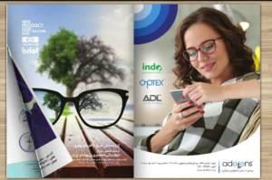 طراحی کاتالوگ عینک