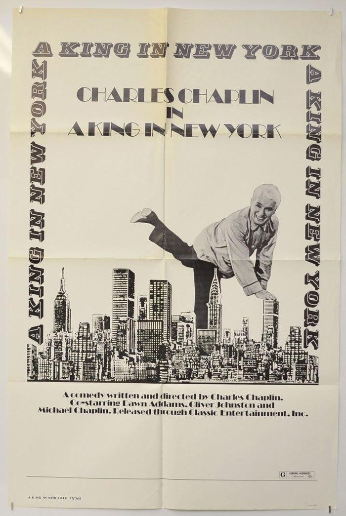پوستر فیلم یک پادشاه در نیویورک