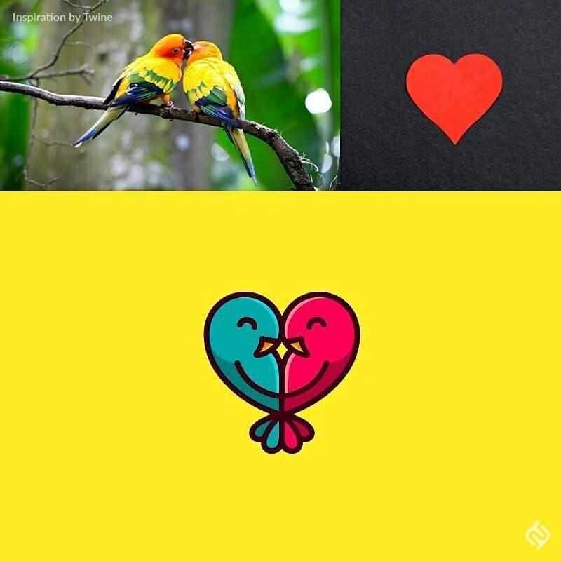 طراحی لوگو قلب