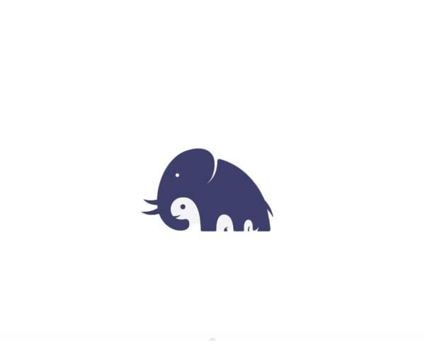طراحی لوگو نگاتیو 2