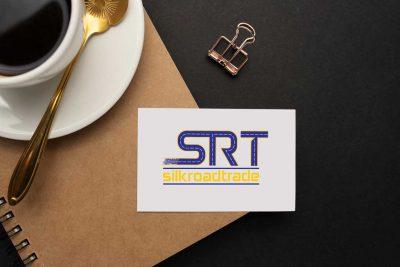 طراحی لوگو شرکت بازرگانی جاده ابریشم